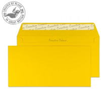 25204 Blake Creative Colour Egg Yellow Peel & Seal Wallet 114X229mm 120Gm2 Pack 25 Code 25204 3P- 25204