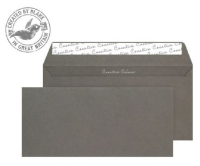 25224 Blake Creative Colour Graphite Grey Peel & Seal Wallet 114X229mm 120Gm2 Pack 25 Code 25224 3P- 25224