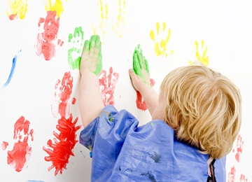 Eco Friendly Magnetic Wall Liners For Nurseries