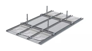 Water Based Heating and Cooling Ceiling Systems