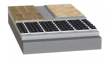 Solid Screed Tacker System