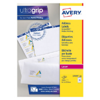 100 x Avery Laser Labels 38.1x21.2 (Mini address labels, easy to use)