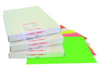 Lasersure A4 Sheeted Labels