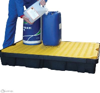 120 x 80cm 100 Litre Spill Tray with Removable Grid