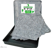 10 EVO Natural Fibre Absorbents with 60x60 drip tray