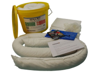 15 Litre Oil and Fuel Spill Kit in a Tub