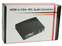HDM1925V MicroConnect HDMI to VGA+Audio Converter Digital-Analog - eet01
