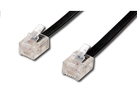 MicroConnect TEL 6P4C/RJ11Black 3m Unshielded 93068 - eet01