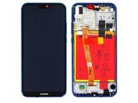 Huawei LCD With Touch Glass, Frame and Battery, Blue 02351VUV - eet01