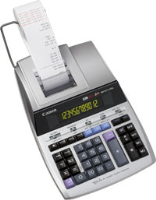 Canon Canon Mp1211-ltsc - Printing Calculator - Lcd - 12 Digits - Ac Adapter  Memory Backup Battery - Silver Metallic 2496b001 - xep01