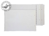 F/3 Blake Purely Packaging White Peel & Seal Padded Bubble Pocket 340X220mm 90Gm2 Pack 100 Code F/3 3P- F/3