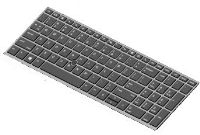 HP Keyboard (FRENCH) W/o Backlight L14367-051 - eet01