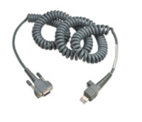 Honeywell Cable RS232 12Ft 9Pin Power On Coiled CV30/CV60 236-197-001 - eet01