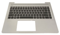 HP Keyboard (GERMAN) W. Top Cover L44589-041 - eet01