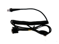 Honeywell Cable RS232C (+/- 12V Signals) Db9 Female Colied 3M 9.8' Blk CBL-120-300-C00 - eet01