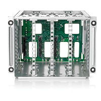 "Hewlett Packard Enterprise Hpe Box1/2 Cage/backplane Kit - Storage Drive Cage - 2.5"" - Sata / Sas - For Proliant Dl380 Gen10  Dl385 Gen10 826691-b21 - xep01"
