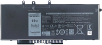 Dell Battery 68Whr 4Cell  GD1JP - eet01