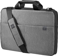 """Hp Hp Signature Slim Topload Case - Notebook Carrying Case - 17.3"""" - Grey - For Omen By Hp 15; Omen X By Hp 17; Hp 14  15; Chromebook 14; Pavilion X360; Spectre 13 T0e19aa - xep01"""