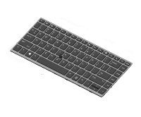 Hp Hp - Notebook Replacement Keyboard - Backlit - Netherlands - For Mobile Thin Client Mt44 L14377-b31 - xep01