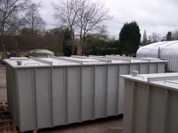 Cost Effective Large Rigid One Piece Water Tanks