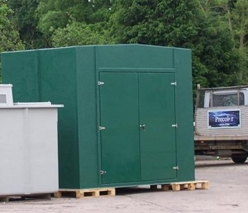 Tank Housing With Single or Double Doors