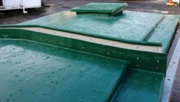 Self-Supporting Rectangular GRP Covers