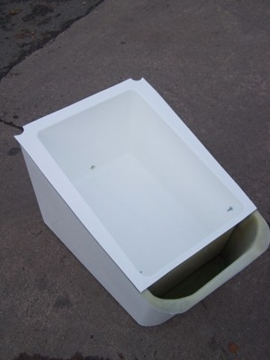 Specially Moulded GRP Drip Trays