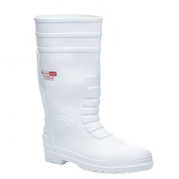 Blackrock Hygiene White Nitrile Safety Wellington Boots