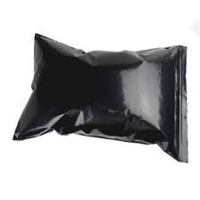 Black Opaque Resealable Bags 200g