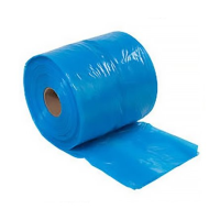 Blue tint HD polythene bags on the roll