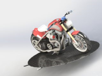 Residential Motorcycle Turntables