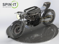 Made To Order Commercial Motorcycle Turntables