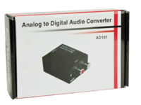 MC-ADC MicroConnect Analog to digital converter Converter Stereo to Toslink - eet01