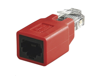 MPK401-R MicroConnect Crossover adapter RJ45 M-F With crossover pin out - eet01