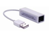 USBETHW MicroConnect USB2.0 to Ethernet, White  - eet01