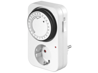 MicroConnect Analog 24h Timer With LED Control GRUTIMER - eet01