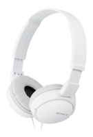 sony ZX Series Stereo Overhead Headphones - White MDRZX110W.AE - MW01