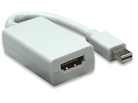Manhattan Mini-DisplayPort/HDMI, White  322461 - eet01