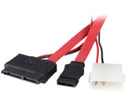 MicroConnect PC Power supply cable S-ATA 2-in-1 data signal + PI2130 - eet01