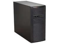 "Supermicro Mid-Tower, 500W PS, 4x 3.5"" Internal tool-less HDD bays, CSE-732I-500B - eet01"