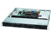 "Supermicro 1U chassis for motherboard Sizes uATX 9.6"" x 9.6"" or CSE-813MTQ-R400CB - eet01"