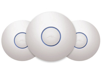 Ubiquiti Networks Indoor 2,4/5Ghz 450Mbps 122m Accesspoint MIMO 3 Pack UAP-PRO-3 - eet01