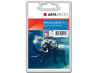 AgfaPhoto Ink Color HP No. 62 XL Pages 415, 11.5ml APHP62CXL - eet01