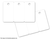 Capture KT3-A 3 Tag Plastic Card White  KT3-A - eet01