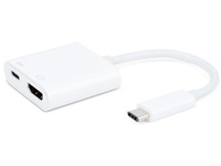ESTUFF USB-C HDMI Charging Adapter For Macbook Pro & DP Alt mode ES623002WH - eet01