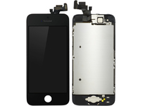 MicroSpareparts Mobile LCD for iPhone 5 Black Full Assembly MOBX-DFA-IPO5-LCD-B - eet01