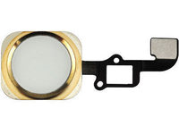 MicroSpareparts Mobile Home button assembly Gold MOBX-IP6-INT-5G - eet01