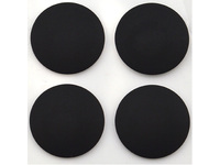 MicroSpareparts Mobile Rubber Feet (4pcs/set) for Apple Retina Macbook Pro 13'' MSPP74207 - eet01