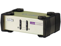 Aten 2 Port PS2/USB KVM, Console & PC PS2/USB support, Video CS82U-AT - eet01