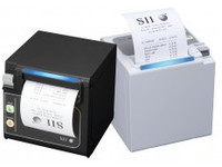Seiko Instruments RP-D10 Printer, RS232, White Thermal, Top/Front Exit 203dpi 22450091 - eet01
